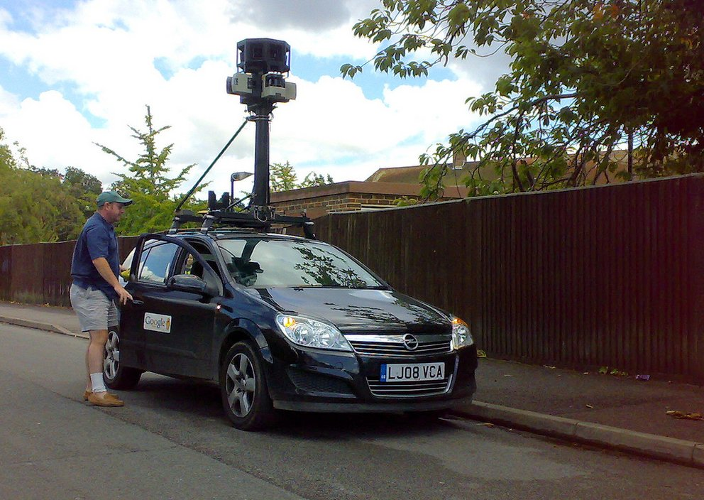 Google Street View Auto. Foto: Bally Hoo
