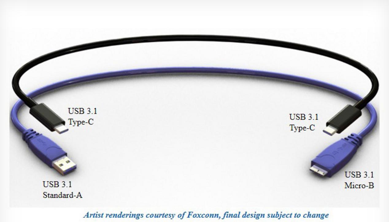 USB C: Der beidseitig einstöpselbare USB 3.1-Verbindungstyp im ...