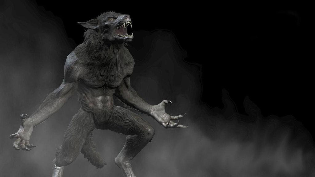 Ein bin werwolf oder ich test vampir Werwolf, Vampir