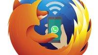 WhatsApp Web unter Firefox eingeschränkt nutzbar [Tipp]