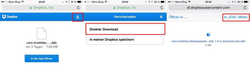 WhatsApp Web für iPhone