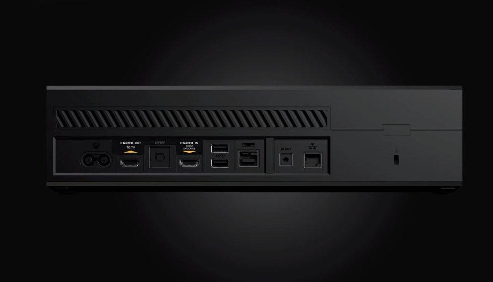 xbox one alle anschl sse im berblick m glichkeiten f r tv audio festplatte und mehr giga. Black Bedroom Furniture Sets. Home Design Ideas