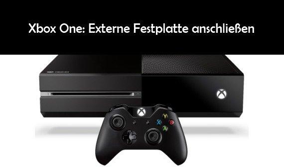 Xbox One: Externe Festplatte anschließen – so geht's und das sollte man beachten