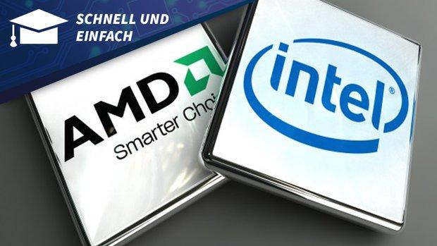 AMD oder Intel: Was ist besser? - Schnell und Einfach