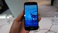 """Acer Liquid Jade Z: Einsteigergerät mit """"Jeansrückseite"""" im Hands-On-Video [MWC 2015]"""