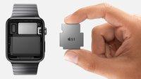 Apple Watch besitzt 8 GB Speicher: 2 GB für Musik, 75 MB für Fotos