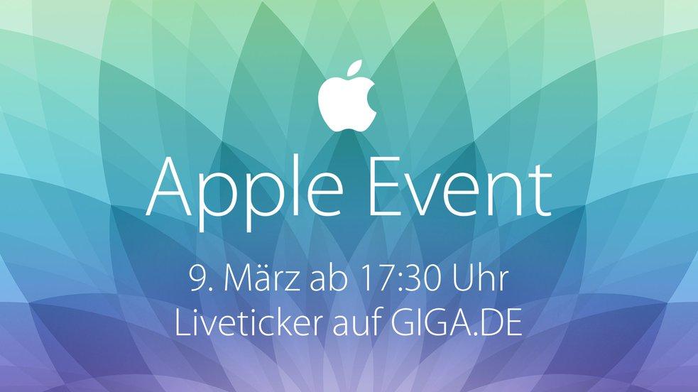Apple Watch Special Event 9. März 2015 – Liveblog