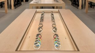 Apple hat eigene Ladestation für Apple Watch in Retail Stores
