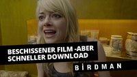 Neulich in der illegalen Tauschbörse: Birdman oder LOL, der Scheiß hat ´nen Oscar gewonnen?