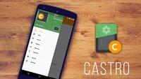 Castro: App zum Auslesen von Systemdaten im Material Design