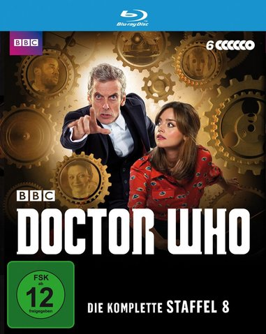 Doctor Who Blu-ray Staffel 8