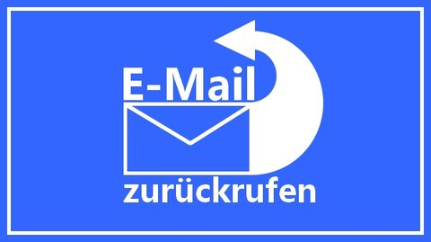 E-mail zurückrufen Titelbild