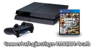 GTA 5 + Playstation 4: Fetter Bundle-Deal nur heute Abend!