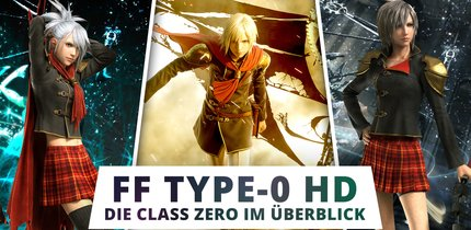 Final Fantasy Type-0 HD: Die Charaktere der Class Zero in der Übersicht