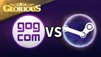 GIGA Glorious: GOG.com - besser als Steam?