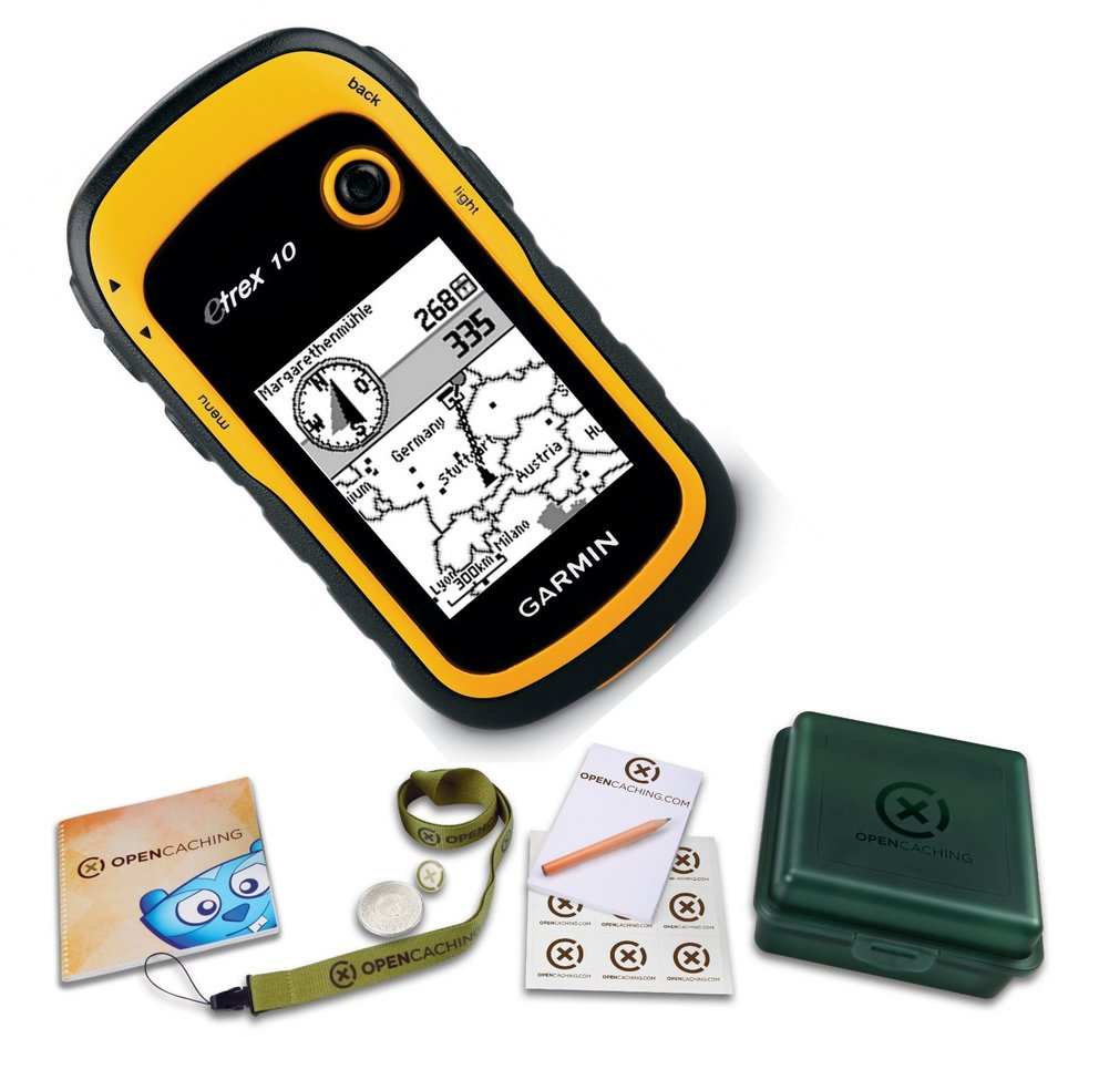 Geocaching was ist das? Garmin Bundle Geocaching einsteiger set