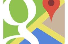 Mit Google Maps eine Karte...