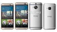 HTC One M9 Plus angeblich mit 5,2 Zoll-Display; Mockup im Größenvergleich mit One M9