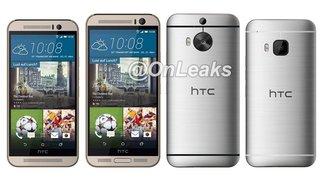 HTC One M9 Plus angeblich mit 5,2 Zoll-Display&#x3B; Mockup im Größenvergleich mit One M9