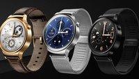 Huawei Watch: Ab sofort bei Amazon vorbestellbar, Preis ist utopisch