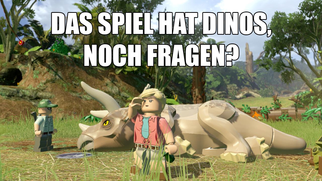 Lego Jurassic World Mein Erster Eindruck Vom Dino Spiel