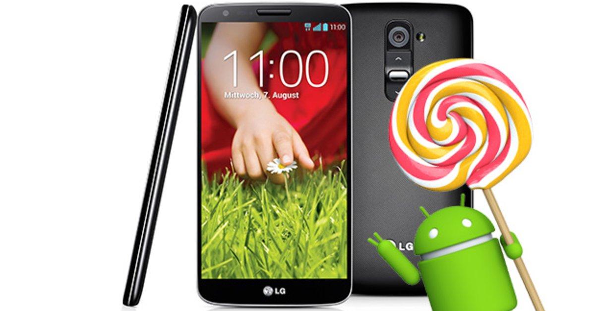 lg g2 update auf android 5 0 lollipop kommt in deutschland an giga. Black Bedroom Furniture Sets. Home Design Ideas