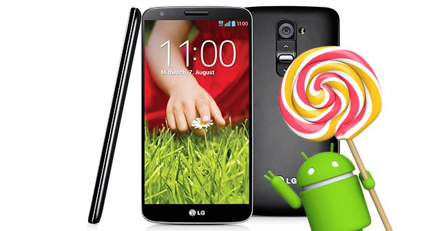 LG G2: Android 5.0 Lollipop-Update im zweiten Quartal – zumindest in Indien