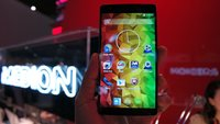Medion Life X6001: 6-Zoll-Phablet im Hands-On-Video [MWC 2015]