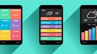Alle Wetter- und Uhr-Widgets in der Übersicht
