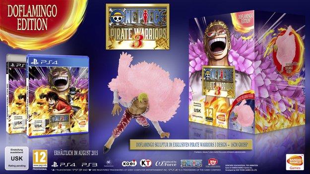 One Piece Pirate Warriors 3: Release eingegrenzt & Vorbesteller-Boni