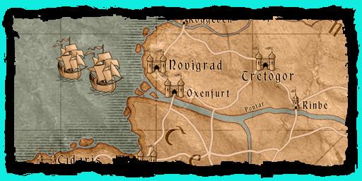 The Witcher 3 – Wild Hunt: Die Karte des Open-World-Rollenspiels