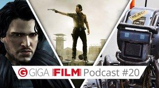 radio giga: Der GIGA FILM Podcast #20 – mit Chappie, Walking Dead & Telltale Games