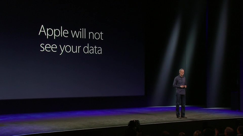 ResearchKit Apple will not see your data