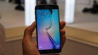 Samsung Galaxy S6 Edge im Hands-On-Video [MWC 2015]