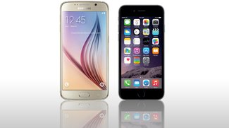 Samsung Galaxy S6 vs. iPhone 6: Video-Vergleich der Top-Smartphones
