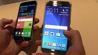 Samsung Galaxy S6 und Galaxy S5 im Hands-On-Vergleich [MWC 2015]