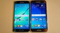 Samsung Galaxy S6 vs. Samsung Galaxy S6 Edge: Hands-On-Vergleich der Schwestergeräte [MWC 2015]