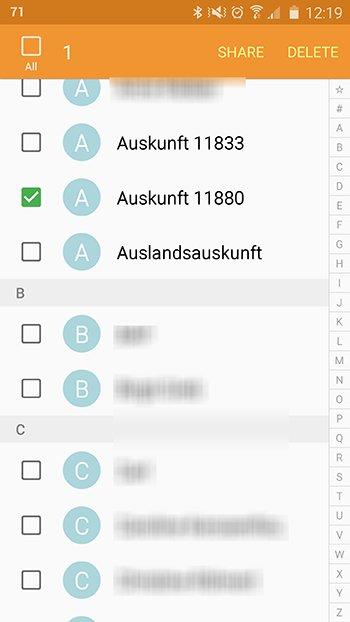 Versteckte Kontakte Im Adressbuch Anzeigen Oder Löschen Auch Mit