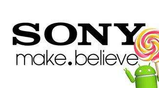 Sonys Xperia Z3- und Z2-Reihe erhalten Update auf Android 5.1