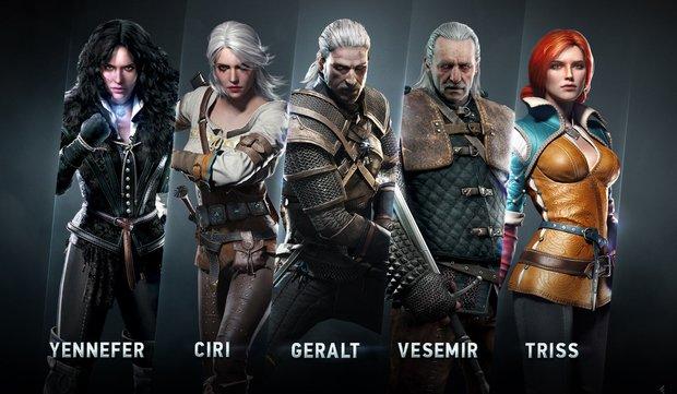The Witcher 3 - Wild Hunt: Die Charaktere des Rollenspiels