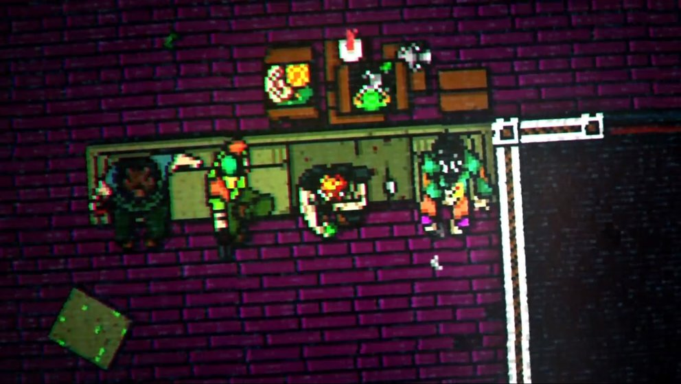 Hotline Miami 2: Die Fans - Mark, Alex, Tony, Corey (v.l.n.r.)