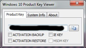 Windows Product Key Viewer