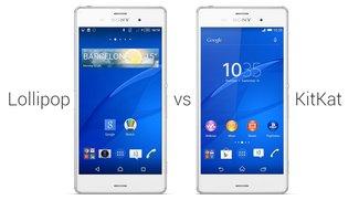 Sony Xperia: Android 5.0 Lollipop-Neuerungen im Vergleich zu KitKat