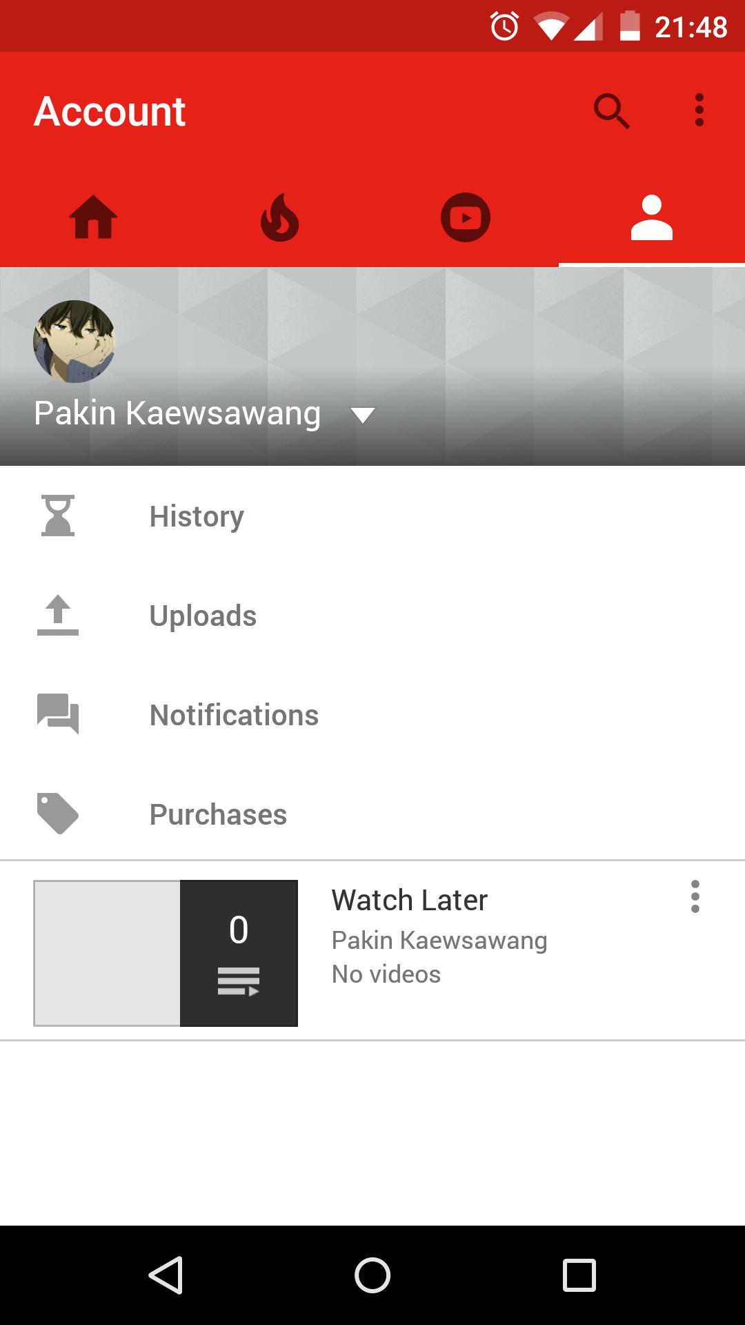 Youtube Suchfilter