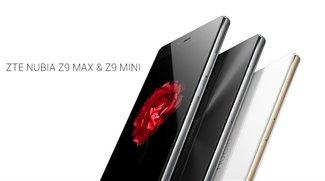 ZTE Nubia Z9 Max & mini: High End-Smartphones im edlen Design vorgestellt