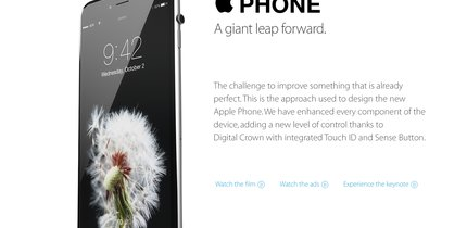 iPhone mit digitaler Krone: Apple Phone statt iPhone 6s!