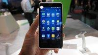 Acer Liquid Z520: Einsteiger-Smartphone im Hektik-Hands-On [MWC 2015]