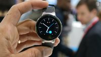 Alcatel OneTouch Watch: Runde Smartwach für Android und iOS im Hands-On [MWC 2015]