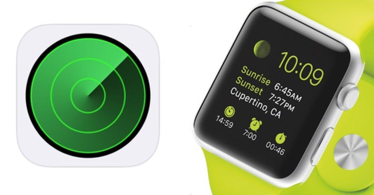 gps auf der apple watch so funktioniert die ortung giga. Black Bedroom Furniture Sets. Home Design Ideas