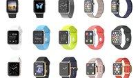 Apple Watch, Apple Watch Sport und Apple Watch Edition im Vergleich
